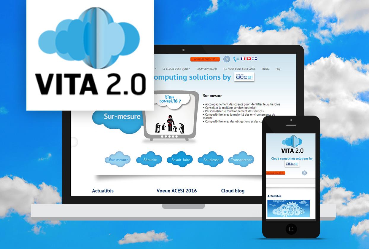 Acesi Vita2 création de site internet Tiz