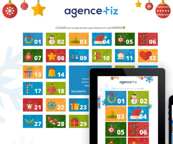 calendrier marketing Tiz